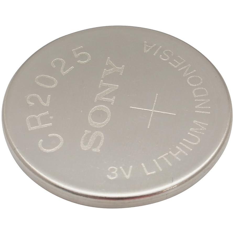 ソニー(SONY) リチウム コイン 電池 CR2025 (1シート 5個)3V