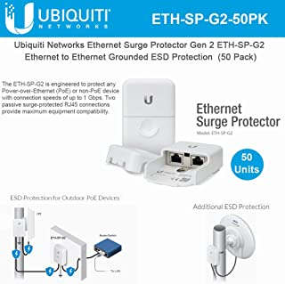Ethernet Surge Protector Gen 2 ETH-SP-G2 Ethernet to Ethernet Grounded ESD Protection (50 Pack)