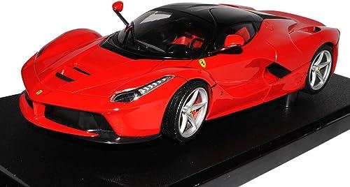 Ferrari LaFerrari Coupe Rot SchwarzAb 2013 1 18 Mattel Hot Wheels Modell Auto