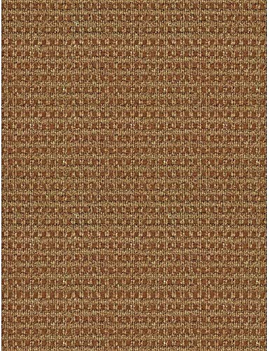 6 ft. x 8 ft. Checkmate Taupe/Walnut All-Weather Indoor/Outdoor Machine Made Area Rug Durable Nonwoven Soft Area Rug Entryway Hallway Front Porch Patio Carpet