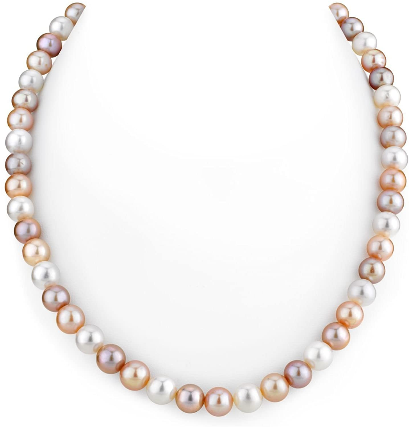 THE Daily bargain Safety and trust sale PEARL SOURCE 14K Gold Freshwate Multicolor AAA Quality 7-8mm