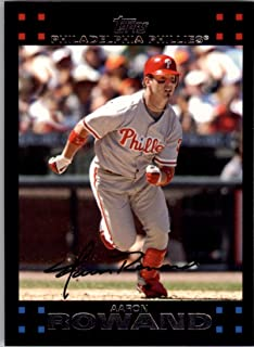 2007 Topps #110 Aaron Rowand NM-MT Phillies