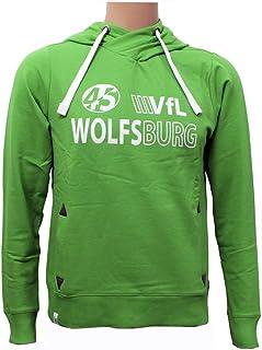 VfL Wolfsburg Damen Hoodie grün XS