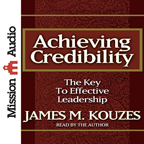 Achieving Credibility audiobook cover art