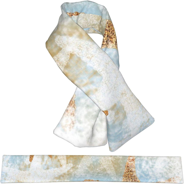 Beach Theme Coastal Starfish (2) Women Men Stylish Soft Scarf Winter Neck Warm Scarf Premium Design Wrap Shawl Scarves