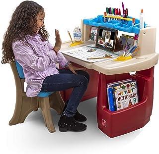 Step2 Deluxe Art Master Kids Desk | Assembles In Min, Multi/None, Model Number: 702500