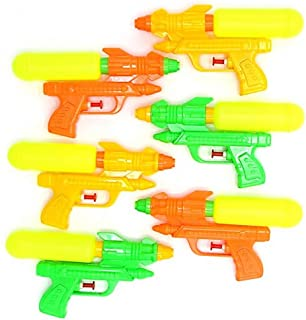 6 Pack Water Shooters | Dazzling Toys Durable Double Barreled Water Shooters | 6 Shooters Per Pack