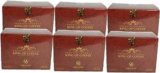 6 Boxes of Organo Gold Ganoderma Gourmet – Gourmet King Coffee (25 sachets)
