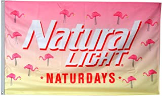 Cayyon Natural Light Naturdays Flag 3x5ft Banner
