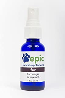 Fur - Natural, Electrolyte, Odorless Pet Supplement That Encourages Fur Regrowth (Spray, 1 Ounce)
