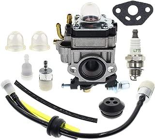 AUTOKAY Carburetor with Blower Fuel Line Kit for Poulanpro 46cc PR46BT 967086901 Poulan Pro