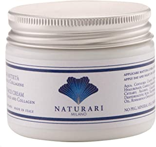 NATURARI Crema Viso 24h con proteine della SETA, ORO COLLOIDALE e COLLAGENE 50ml