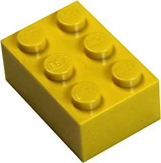 LEGO Parts and Pieces: Yellow (Bright Yellow) 2x3 Brick x50