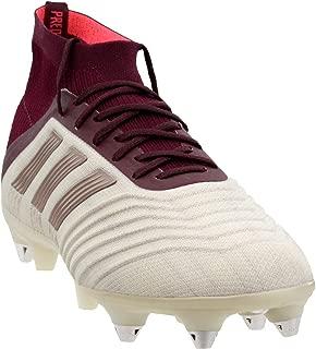 adidas Womens Predator 18.1 Soft Ground Soccer Athletic Cleats,