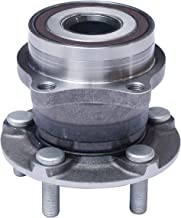 TUCAREST 512401 Rear Wheel Bearing and Hub Assembly Compatible Scion FR-S Subaru BRZ Forester Legacy Outback Impreza [5 Lug W/ABS]