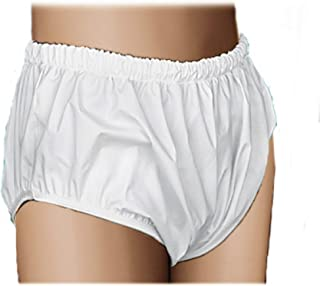 Essential Medical Supply QuikSorb Pull On Incontinent Pants, White, 1 Count