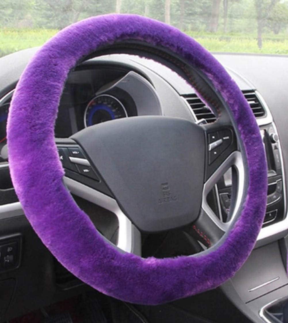 baiou specialty shop 1pcs Universal Winter Faux Wool Cheap bargain Cover Wheel Steering Plush