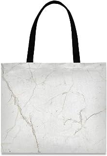 MONTOJ Volakas Damen-Handtasche aus Segeltuch, Weiß