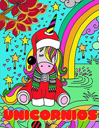 UNICORNIOS: Gran libro para colorear UNICORNIO. 85 dibujos de unicornios para colorear. Horas de relax, ocupación, imaginación y creatividad Idea de regalo llena de ternura.