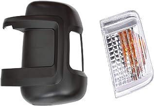 Carcasa para espejo retrovisor izquierdo del conductor con tapa intermitente.