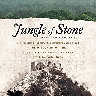Jungle of Stone audiobook cover art