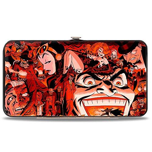 Buckle-Down Damen Hinge Wallet-DC Comics Batman Geldbörse, 18 cm x 10 cm