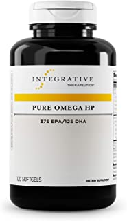 Integrative Therapeutics - Pure Omega HP Fish Oil Softgels - 2300 mg Omega 3 Fatty Acids with EPA and DHA - Wild Fish Oil ...