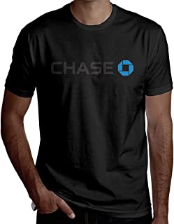 Man JPMorgan Chase Bank Logo Combed Crewneck Short-Sleeve T-Shirt Design Top Tees