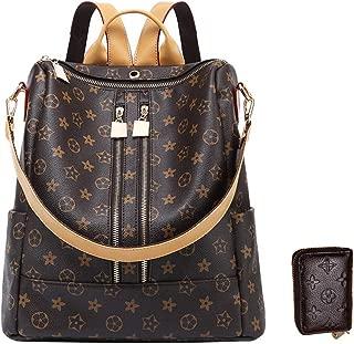 Designer Handbags For Women Fashion Backpack Purse Leather Zipper Shoulder Bag Handbags