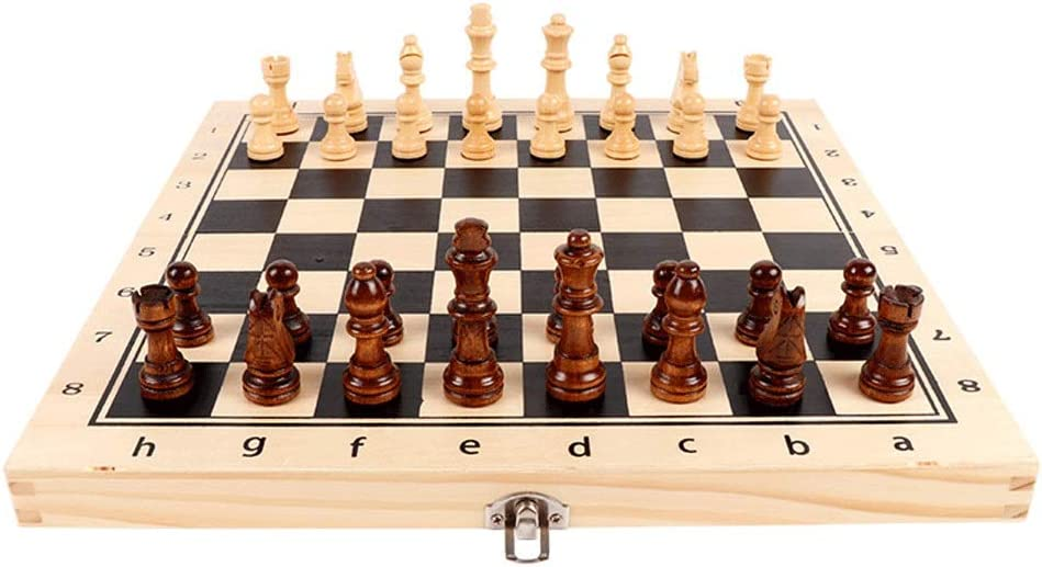 Agal Chess Magnetic Set Solid Foldable Dou Wood Chessboard Jacksonville OFFicial mail order Mall