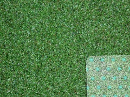 Ta-Bo Lifestyle Premium Kunstrasen Rasenteppich grün 10 mm mit Noppen 200 cm breit, 200x200 cm