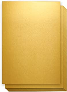 shiny gold cardstock