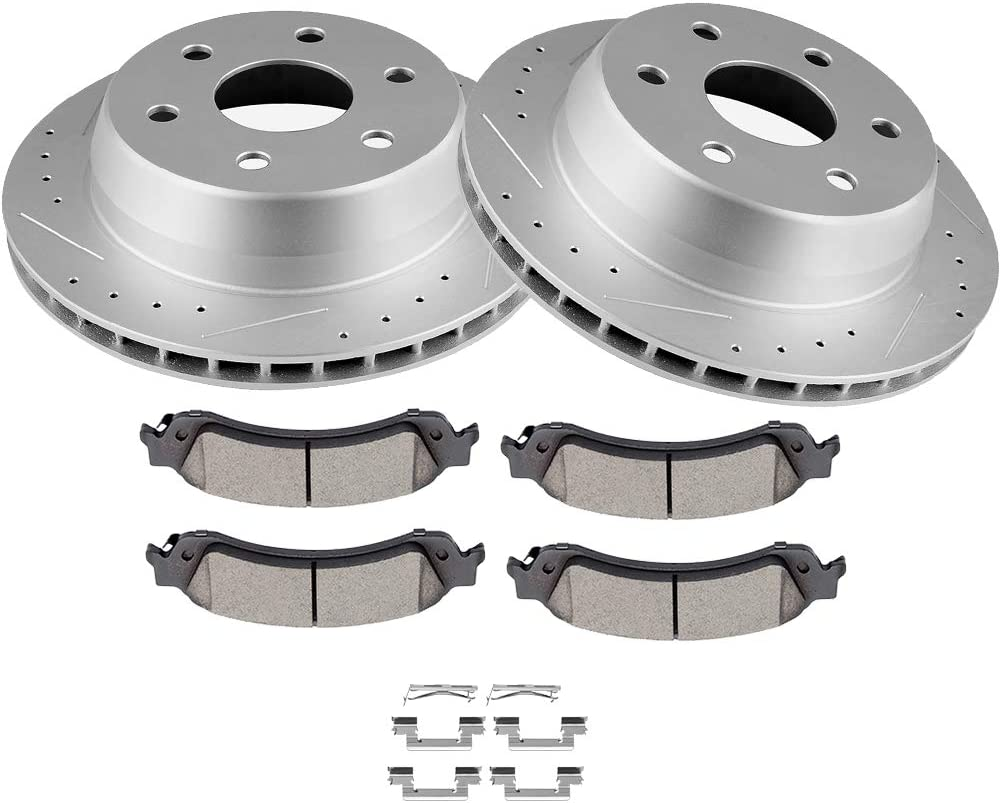 OCPTY Recommended Brakes Kits with 2 Rear Brake Rotots Ceramic 5 popular and Pa 4 Disc