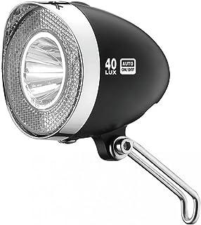 comprar comparacion XLC Cl-d04 Faros LED Dinamo, Unisex Adulto, Negro, 10 x 6 x 4 cm