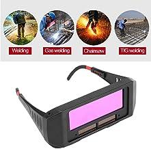 1 Pair Solar Auto Darkening Welding Goggle, Safety Protective Shade Autodarking Welding..
