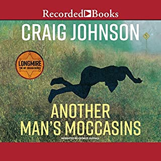 Another Man's Moccasins audiobook cover art