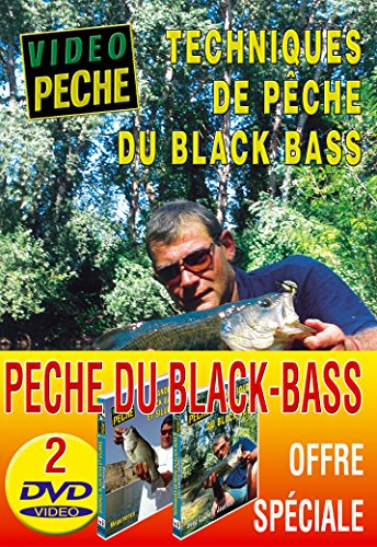 Lot 2 DVD Vidéo Pêche du Black Bass-Carnassier
