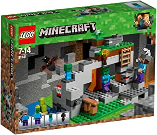 LEGO Minecraft The Zombie Cave for age 7-14 years old 21141