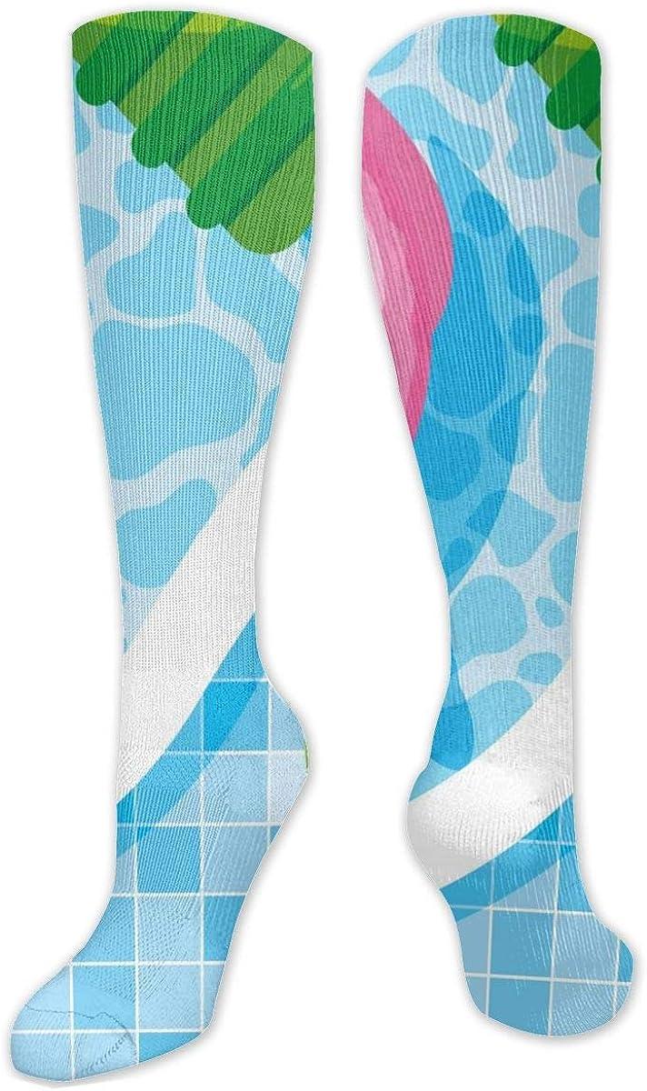 Swimming Pool Knee High Socks Leg Warmer Dresses Long Boot Stockings For Womens Cosplay Daily Wear
