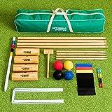 9. Net World Sports Croquet Set [Senior Pro]