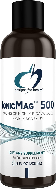 Max 53% OFF Designs for Health IonicMag 500 Magnesium with Trace Mine Portland Mall Liquid