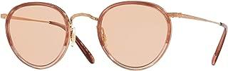 Oliver Peoples MP-2 OV1104 - 5288 Sunglasses ROSE VSB, 18K GOLD PLATED 48mm