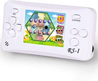 HigoKids Handheld Game Console for Children 8-Bit Retro Video Game Player with 2.5 inches LCD Screen The 80's 90's Arcade ...