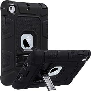 ULAK Funda iPad Mini 1/2/3, [Serie Armor] 3 in 1 híbrido Cases de la Cubierta a Prueba de Golpes Carcasa con Soporte Funci...