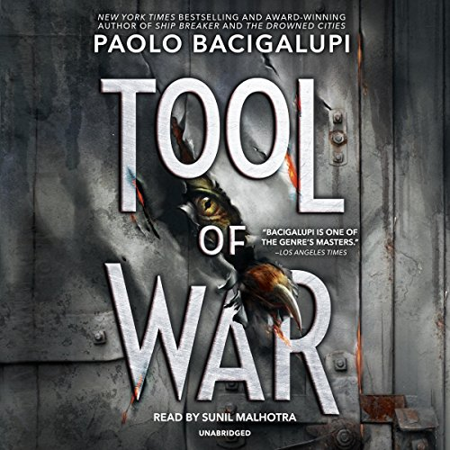 Tool of War audiobook cover art