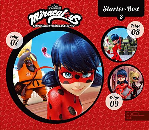 Miraculous - Geschichten von Ladybug & Cat Noir - Starter-Box 3 (7-9) - Die Original-Hörspiele zur TV-Serie