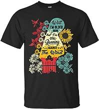 Well I'm Older Now but I'm Still Running Against The Wind Bob Seger Unisex Black T-Shirt