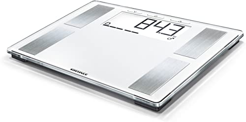 Soehnle Shape Sense Profi 100 Bathroom Scale, digital scale for body analysis and BMI, acccurate scale up to 180 kg, ...