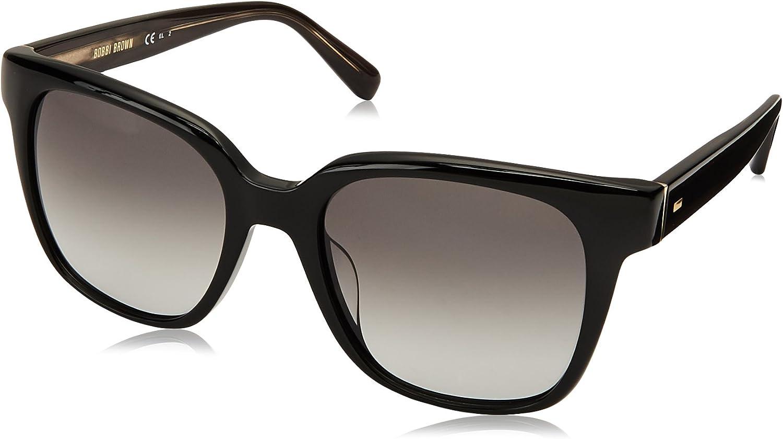 Bobbi Brown Women's The Gretchen s Square Sunglasses BLACK 52 mm