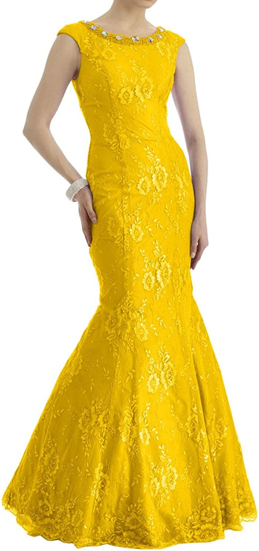Avril Dress Mermaid Trumpet Scoop Sleeveless Evening Prom Dress Brush Sweep